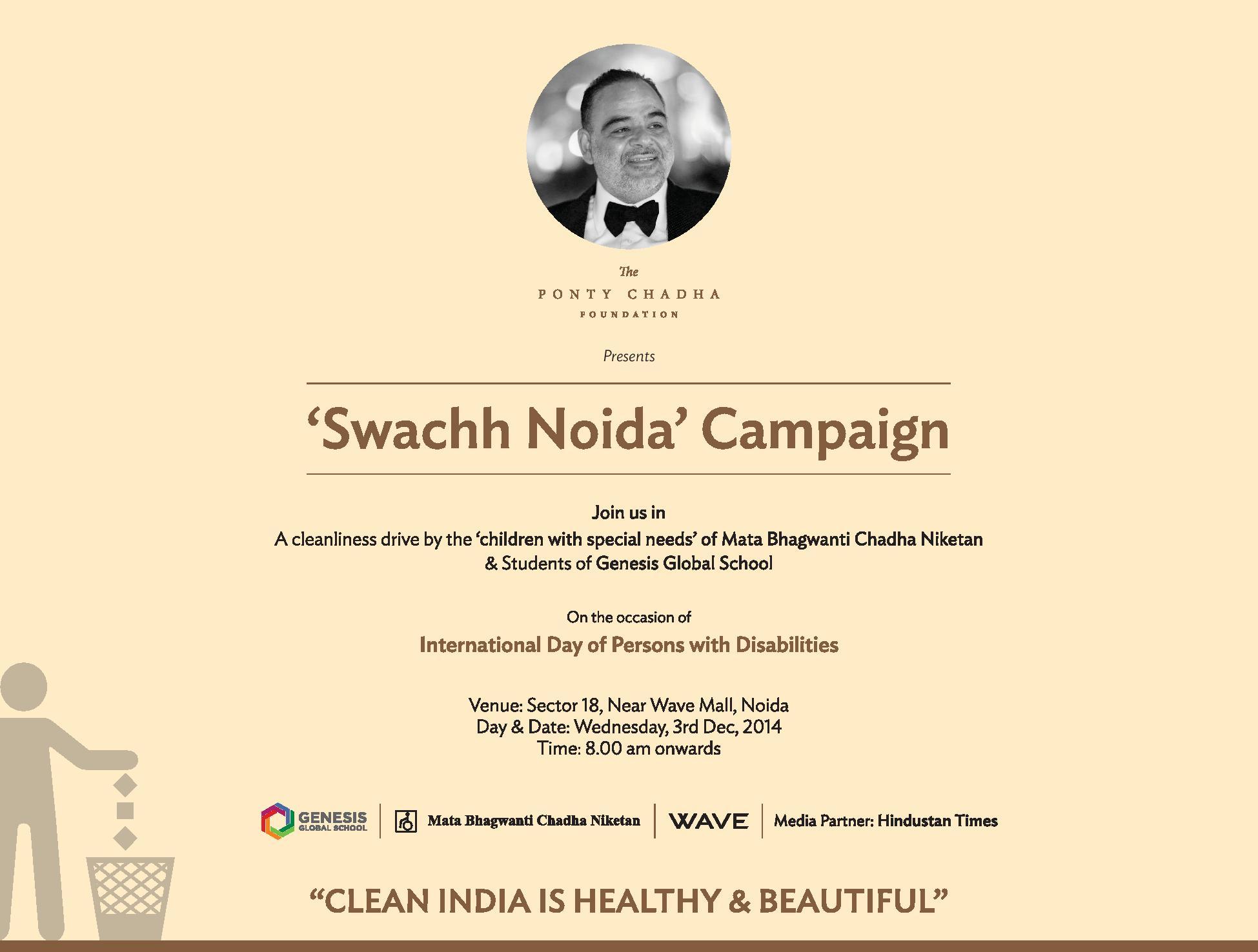 Swachh Noida Campaign