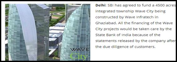 Wave City and SBI to Join Hands to Ease Home Loans