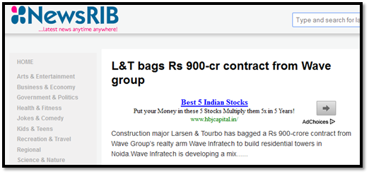 L&T bags Rs 900-cr contract from Wave group