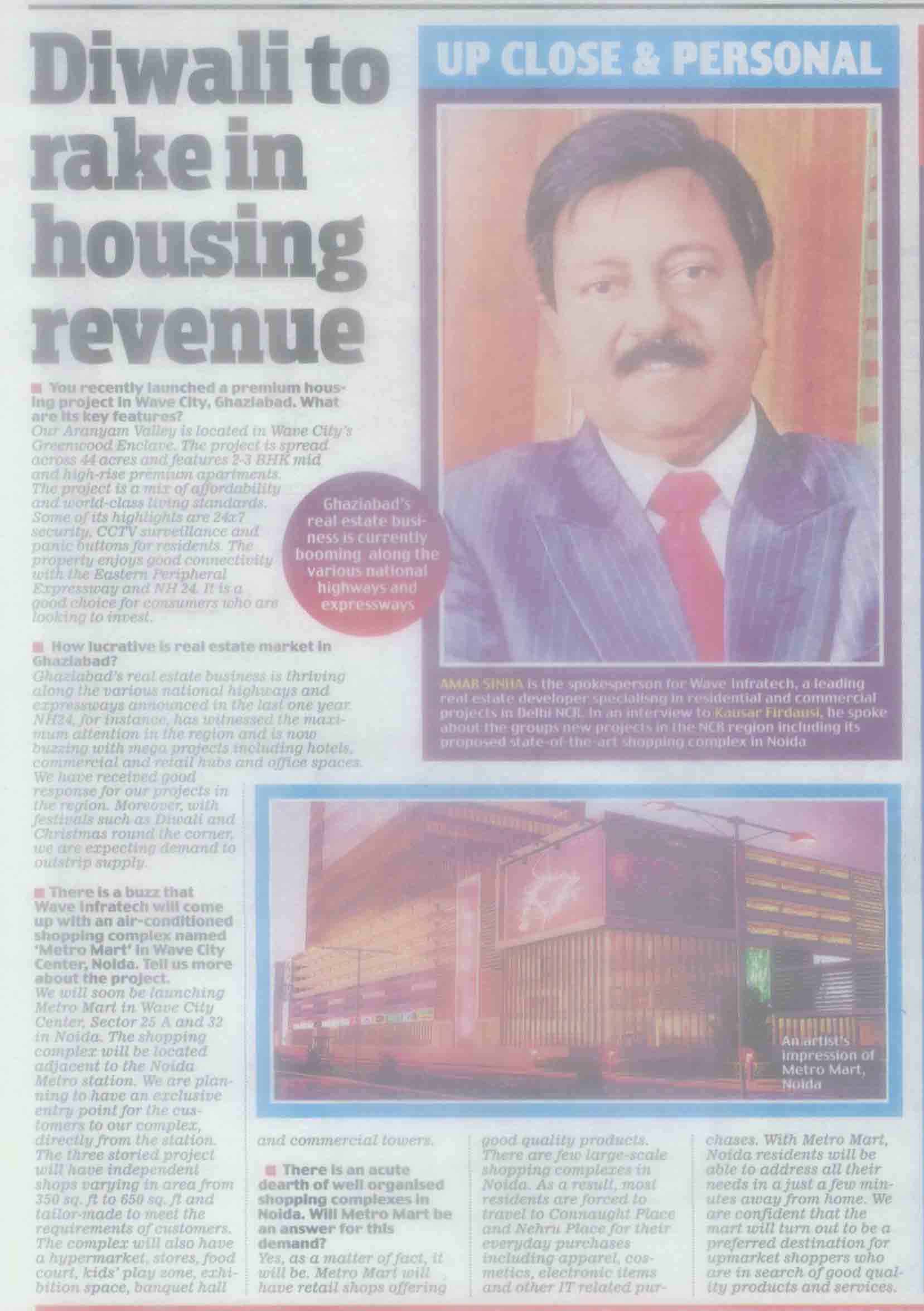Diwali to rack in housing revenue