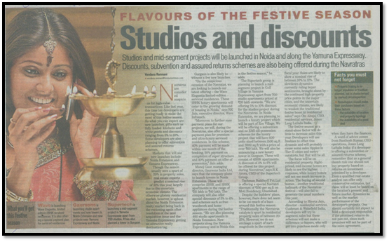 Flavours of the festive season Studios and Discounts