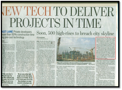 New tech to deliver projects in time