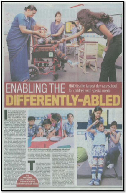 Enabling the differently abled