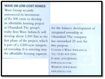 Wave on low cost homes
