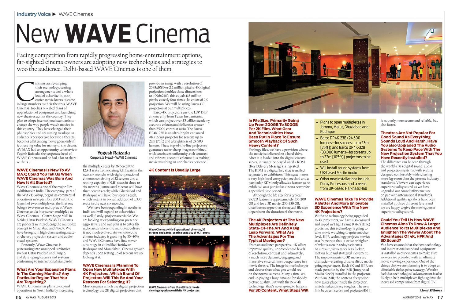 New WAVE Cinemas
